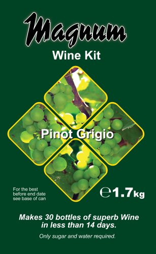 Magnum Wine Kit (30 bottle) - Pinot Grigio