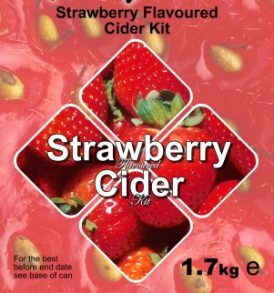 Magnum Cider Kit - Strawberry