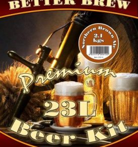 Better Brew Beer Kit (23 litres) - Northern Brown Ale