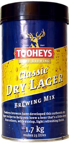 Tooheys 23L kit - Classic Dry Lager