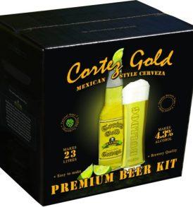 Bulldog Cortez Gold Mexican Style Cerveza
