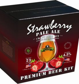 Bulldog Strawberry Pale Ale