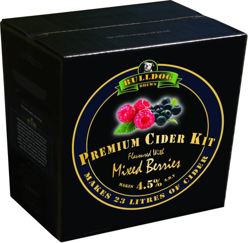 Bulldog Cider Kit - Mixed Berries