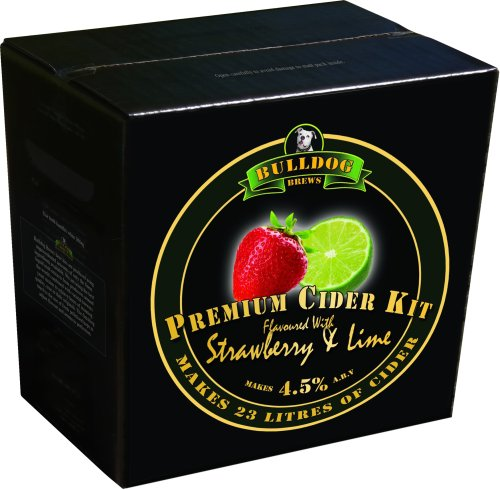 Bulldog Cider Kit - Strawberry & Lime