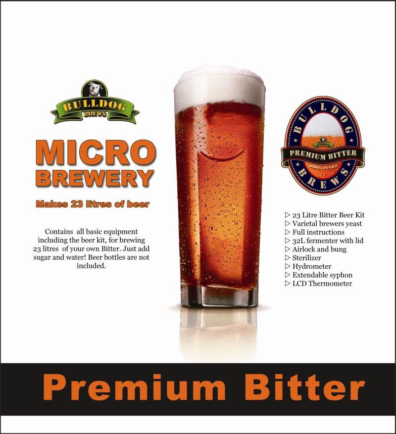 Bulldog Brews Complete Micro Brewery - Bitter