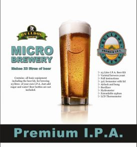 Bulldog Brews Complete Micro Brewery - Premium IPA