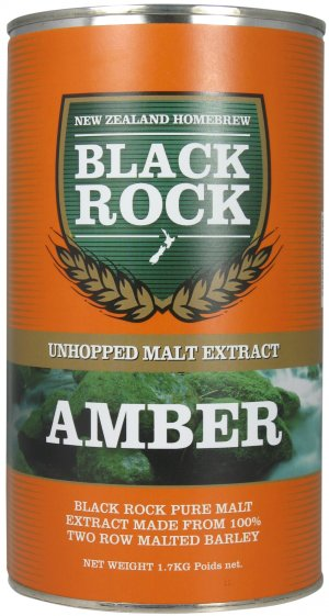 Black Rock (NZ) - Amber Unhopped Malt Extract