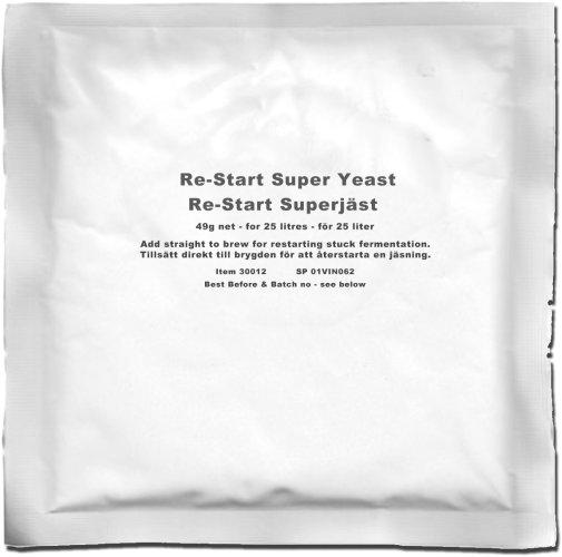 Alcotec Restart Super Yeast