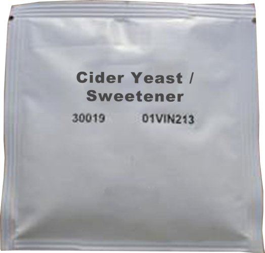 Cider Yeast for 25L sweet dry ciders