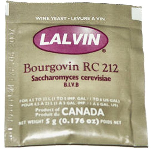 Wine Yeast - Lalvin Burgundy (RC212)