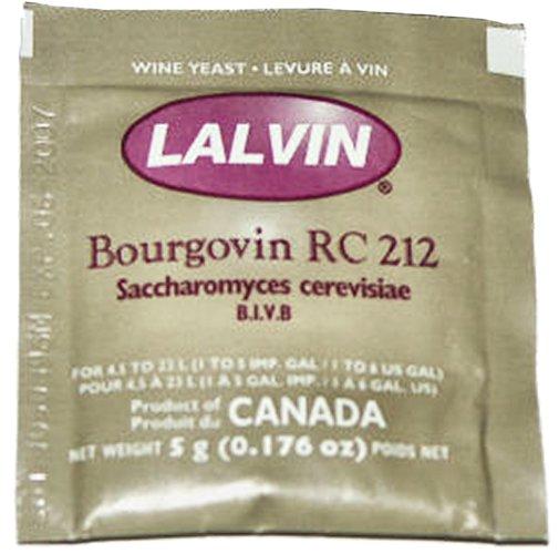 Wine Yeast - Lalvin Burgundy (RC212)