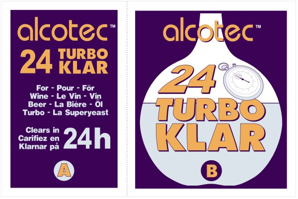 Alcotec 24 Hour Turbo Klar Wine Finings