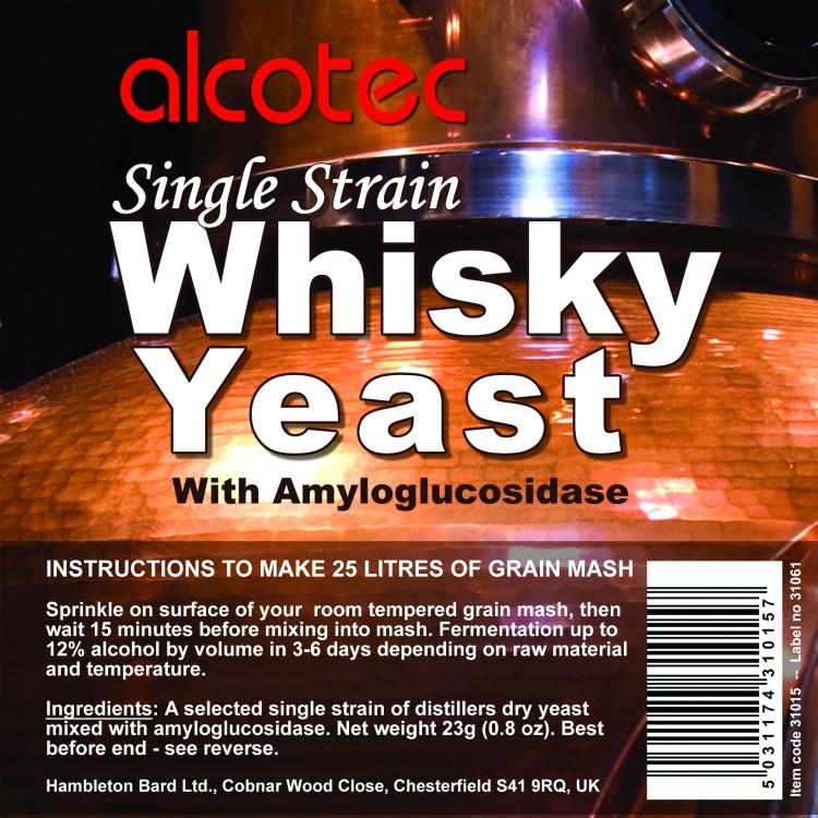 Alcotec Single Strain Whisky Yeast