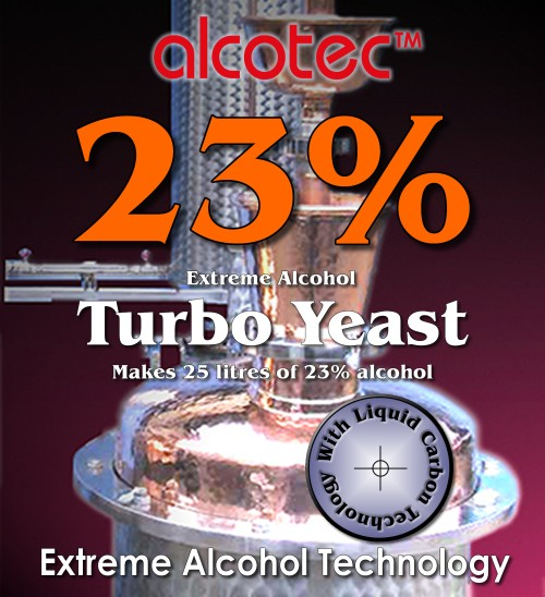 Alcotec 23% Turbo - Extreme Alcohol