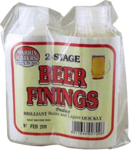Harris 2-stage beer finings