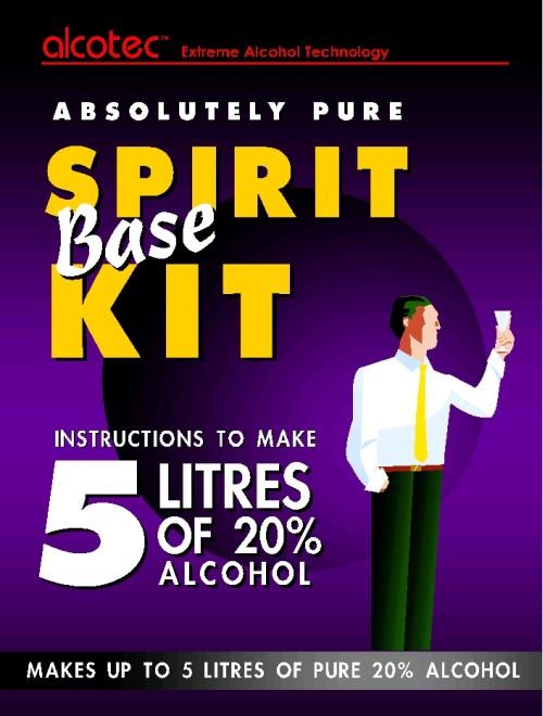 Alcotec Spirit Kit, 5 litres