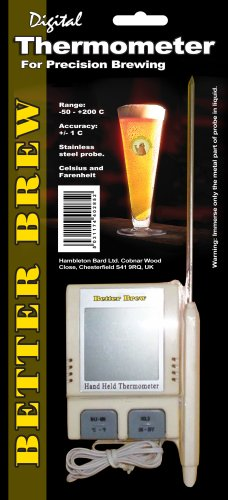 Thermometer - digital with probe (Better Brew)
