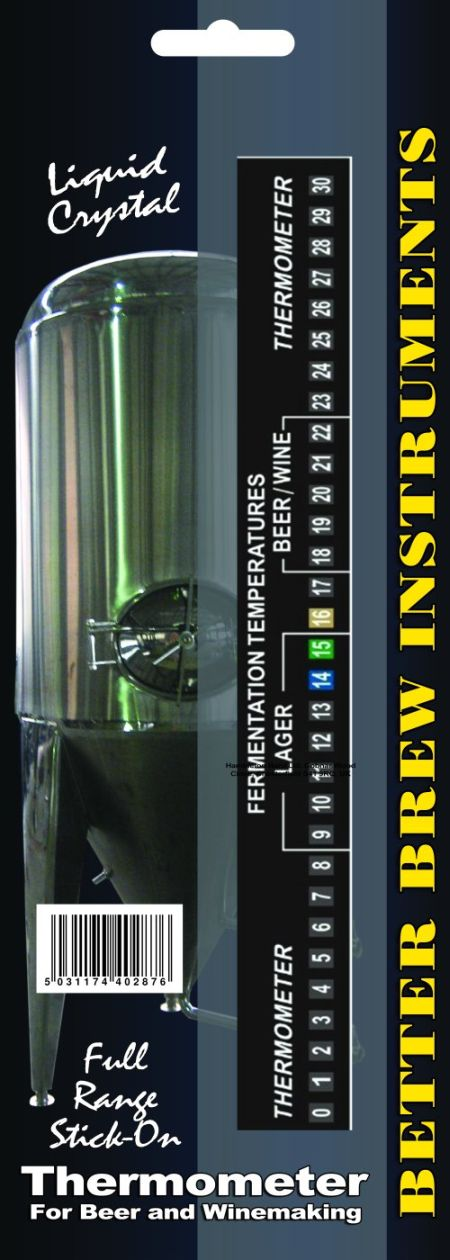 Thermometer - full range LCD (Better Brew)