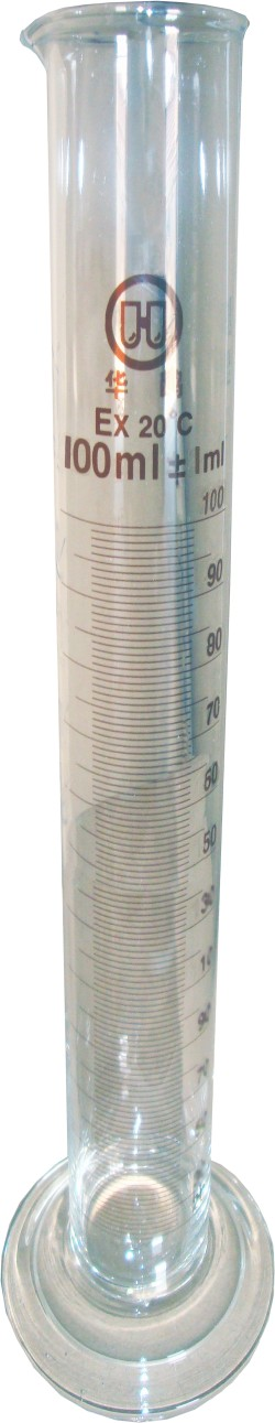 Cylinder 100ml (glass, with scale - boxed)