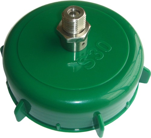 S30 Equipment for kegs - S30 cap, with stainless steel valve