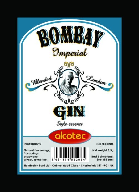 Alcotec Essences for 750ml - AT Colonial gin
