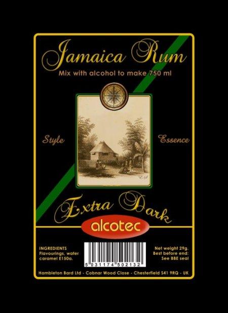 Alcotec Essences for 750ml - AT Extra Dark Jamaica rum