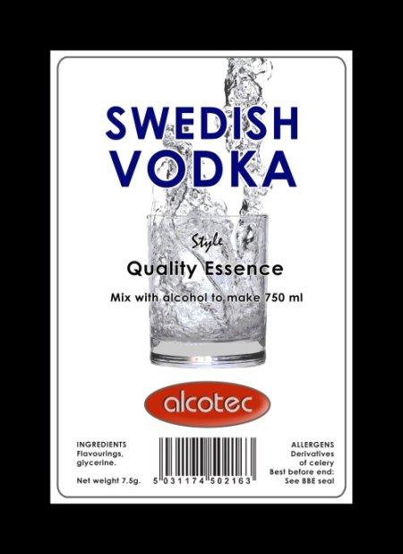 Alcotec Essences for 750ml - AT Swedish Vodka