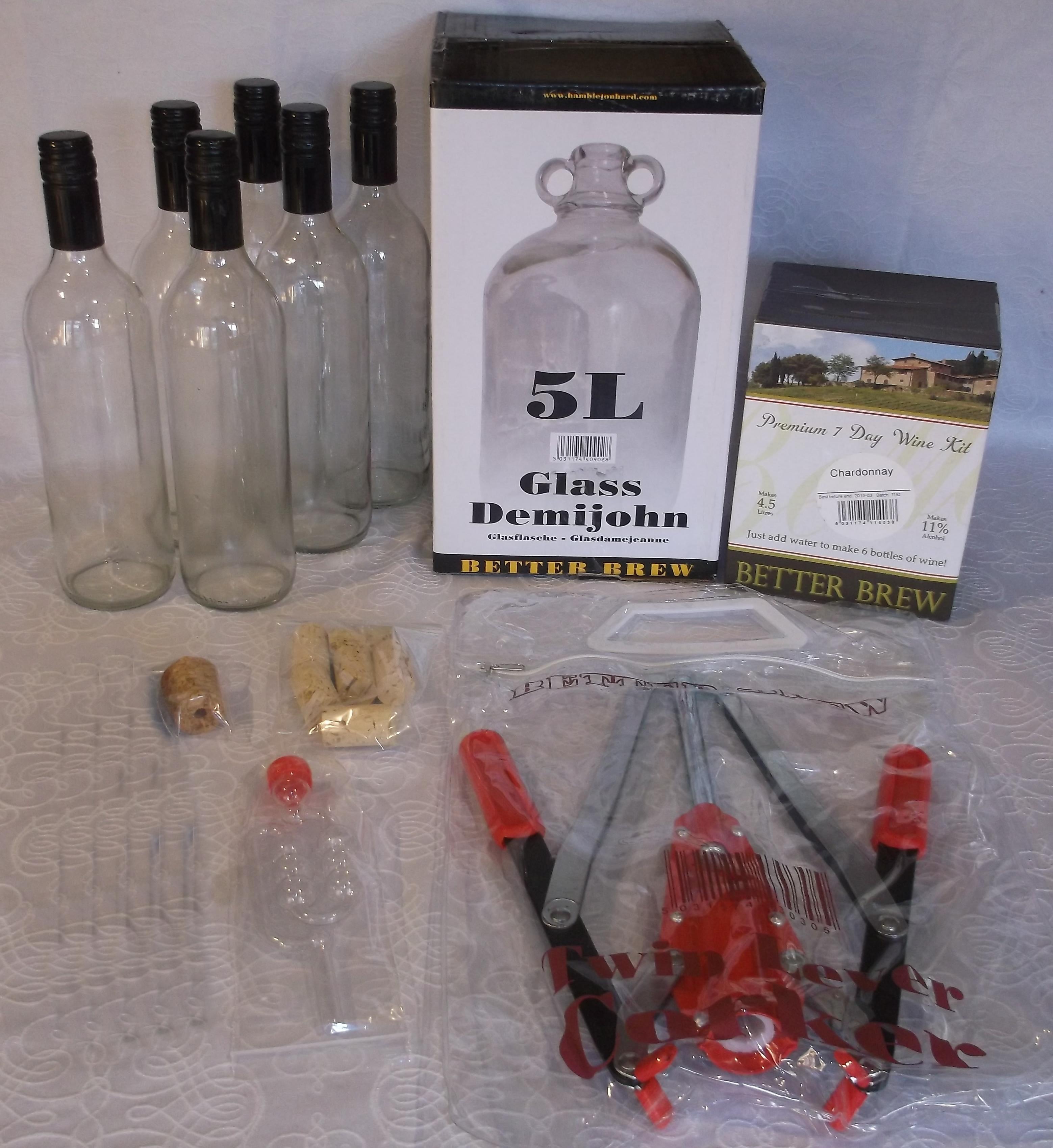 Wine Starter Pack - Basic Version