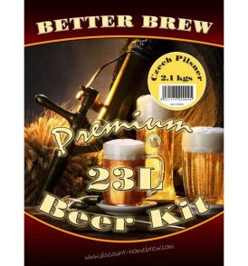 Better Brew Beer Kit (23 litres) - Czech Pilsner