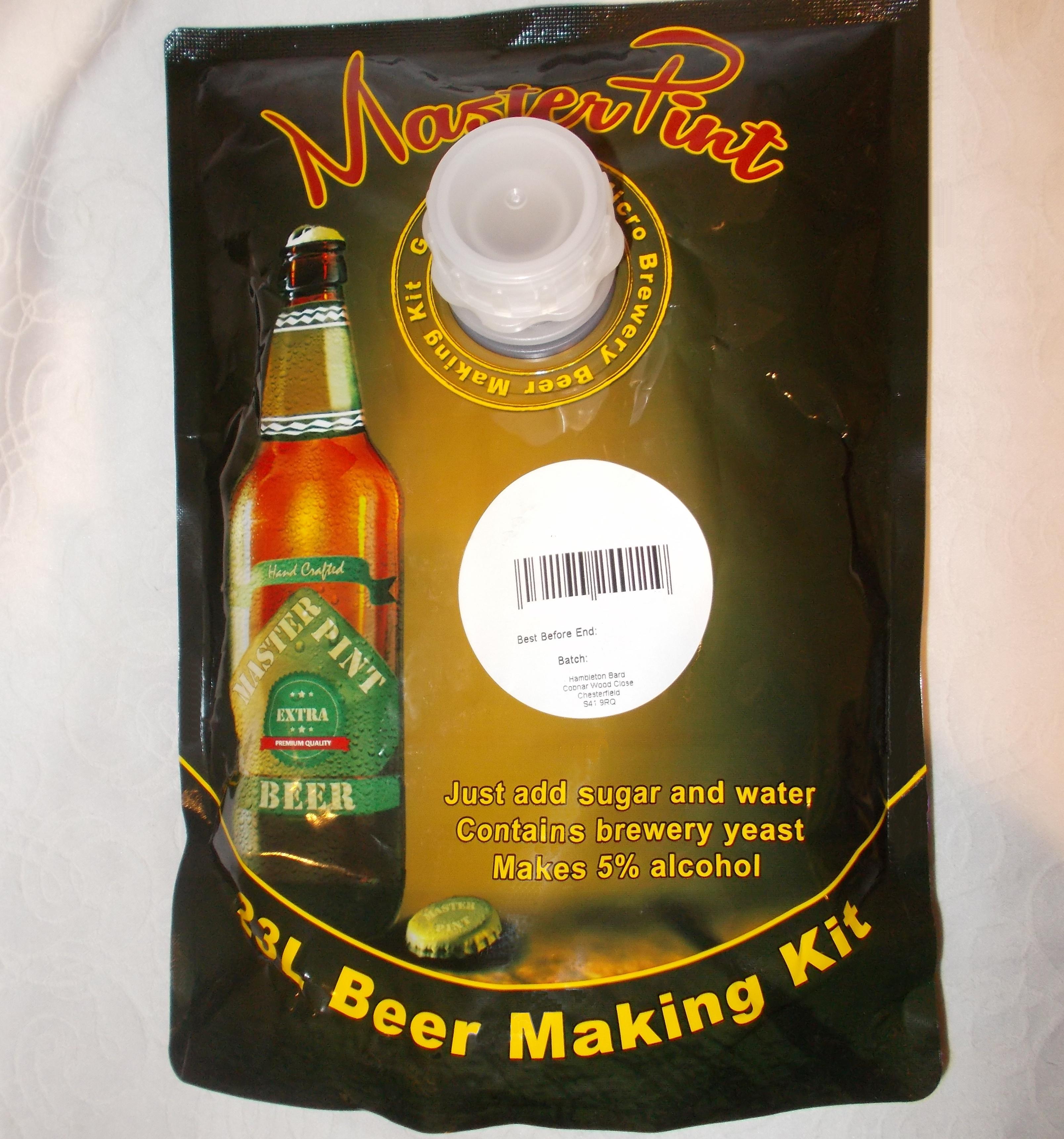 Masterpint Dark Ale